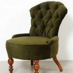 Fotelj mali zelen
