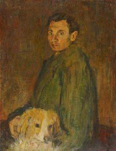 Avtoportret s psom