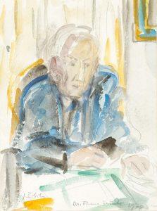 Portret dr. Franca Sušnika