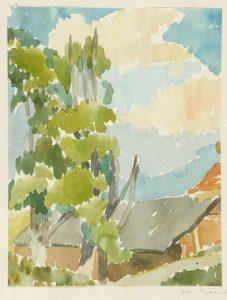 Hiša in drevesa