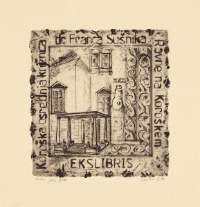 Koroška osrednja knjižnica dr. Franca Sušnika: ekslibris
