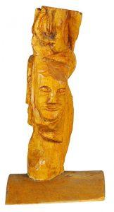Lesena skulptura