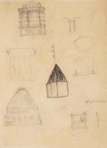 Arhitekturni detajli : skica